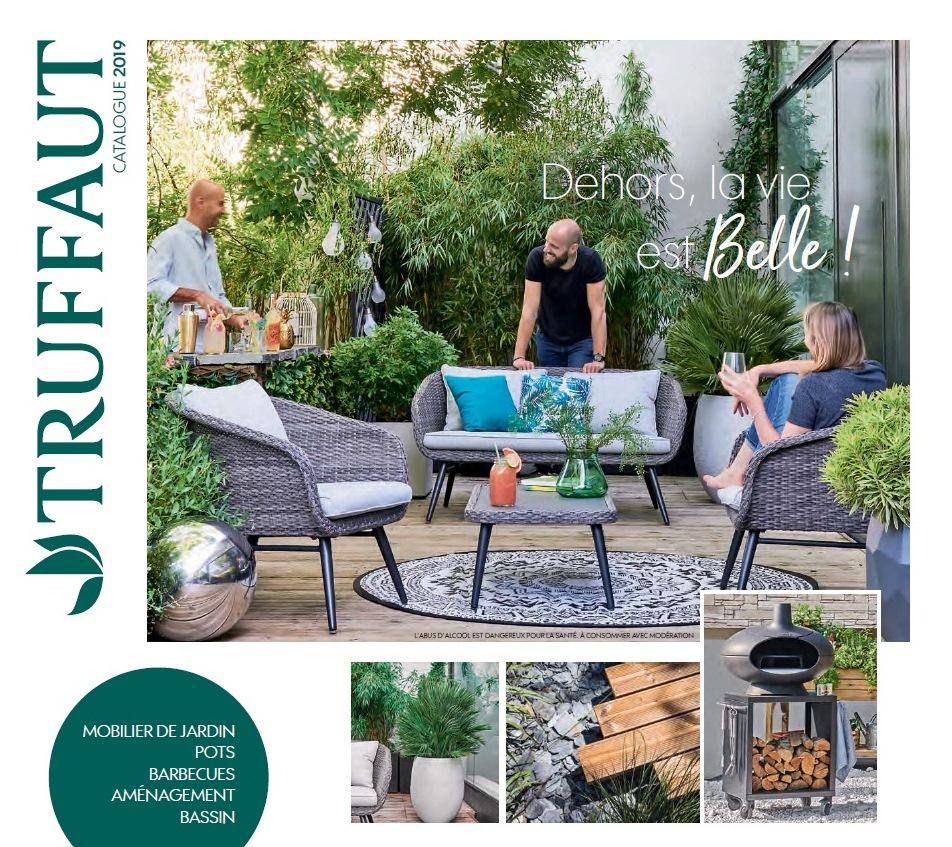 Catalogue Truffaut Mobilier Aménagement Jardin 2019 ... encequiconcerne Table De Jardin Truffaut