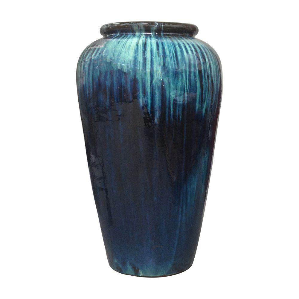 Ceramic Jarre - Yixing Jardin - La Compagnie Française De L ... intérieur Jarre De Jardin