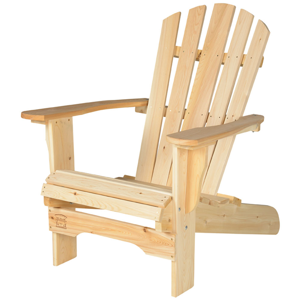 Chaise Adirondack Pour Adultes destiné Fauteuil De Jardin Bois Adirondack