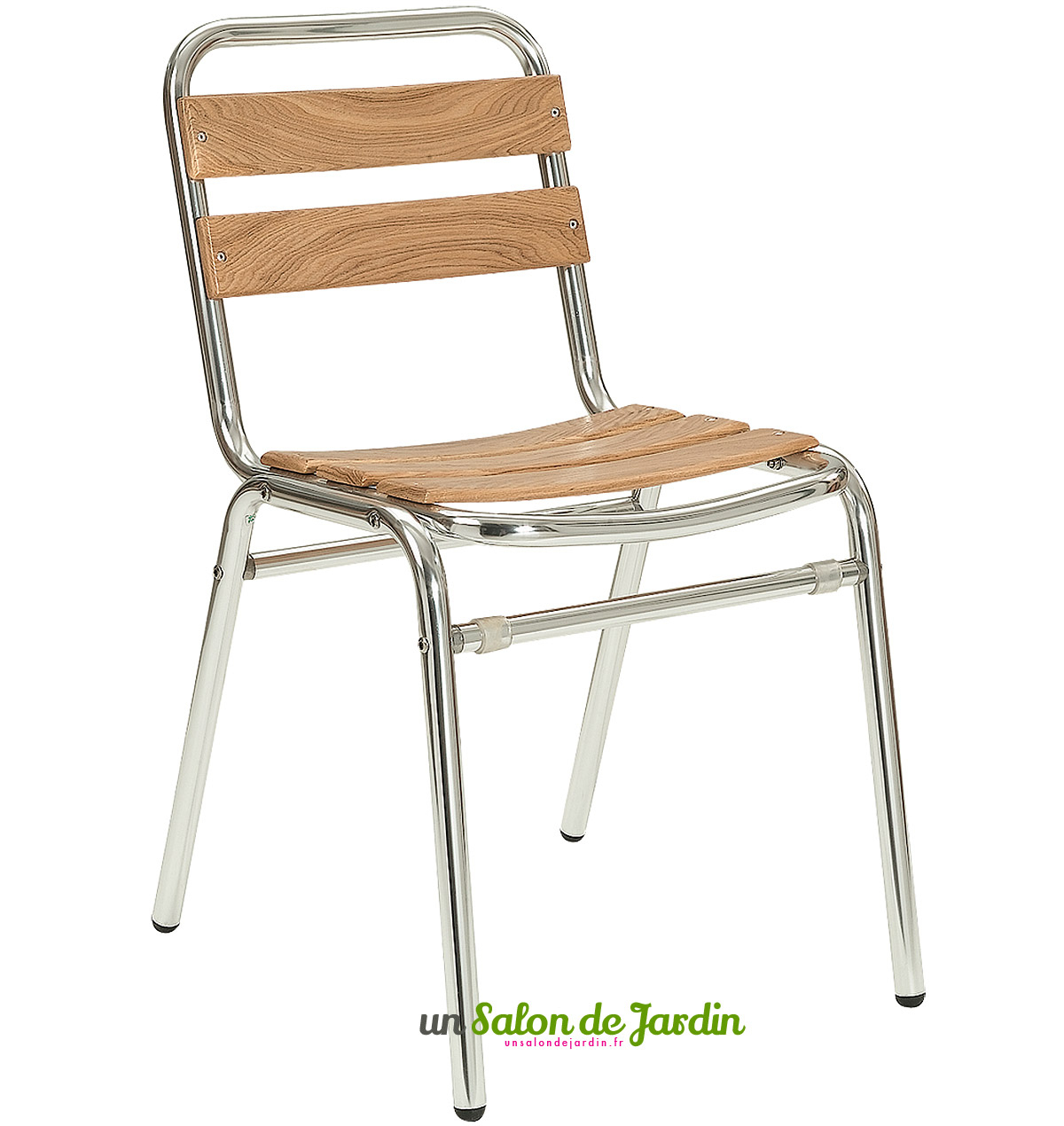 Chaise Chaise Bois Alu Alu Bistrot Bistrot Et Et Chaise Bois ... dedans Chaise Bistrot Aluminium Jardin