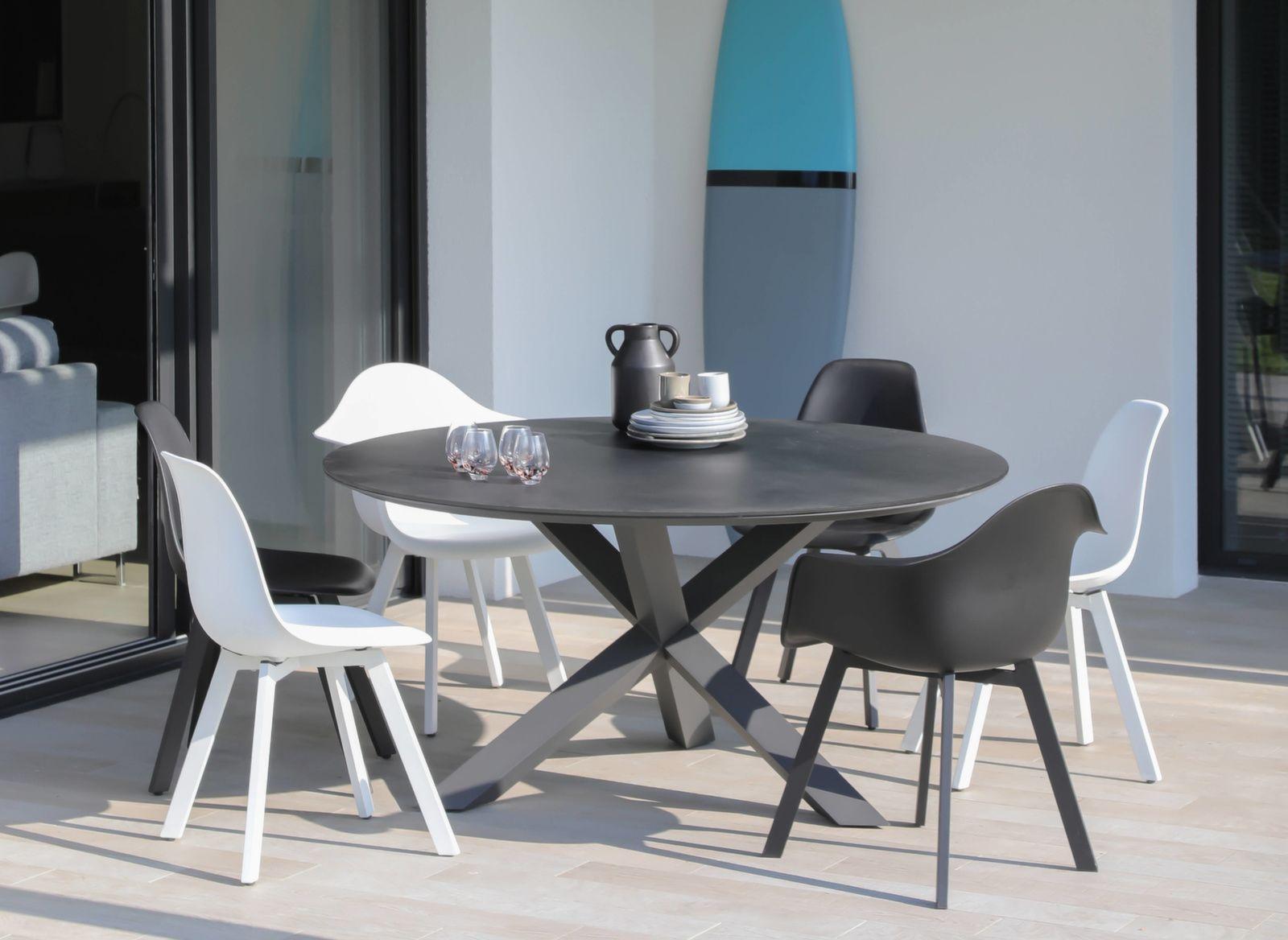 Chaise Coque Jato encequiconcerne Table Et Chaise De Jardin Design