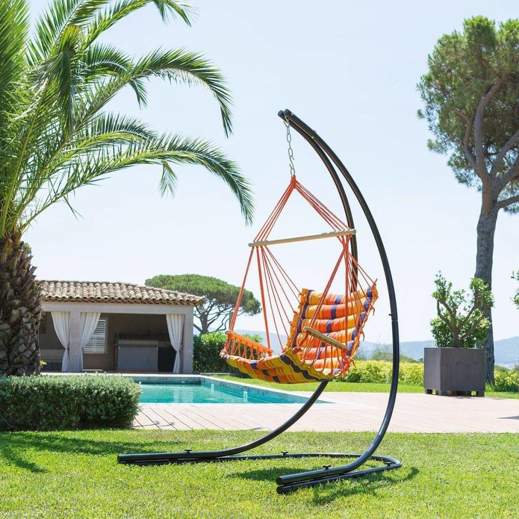 Chaise De Détente Suspendue Antalya dedans Chaise Suspendue Jardin
