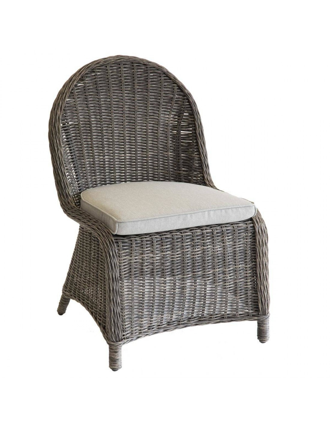 Chaise De Jardin Bétong - Aluminium En Résine Tressée - Hespéride destiné Chaise De Jardin Hesperide
