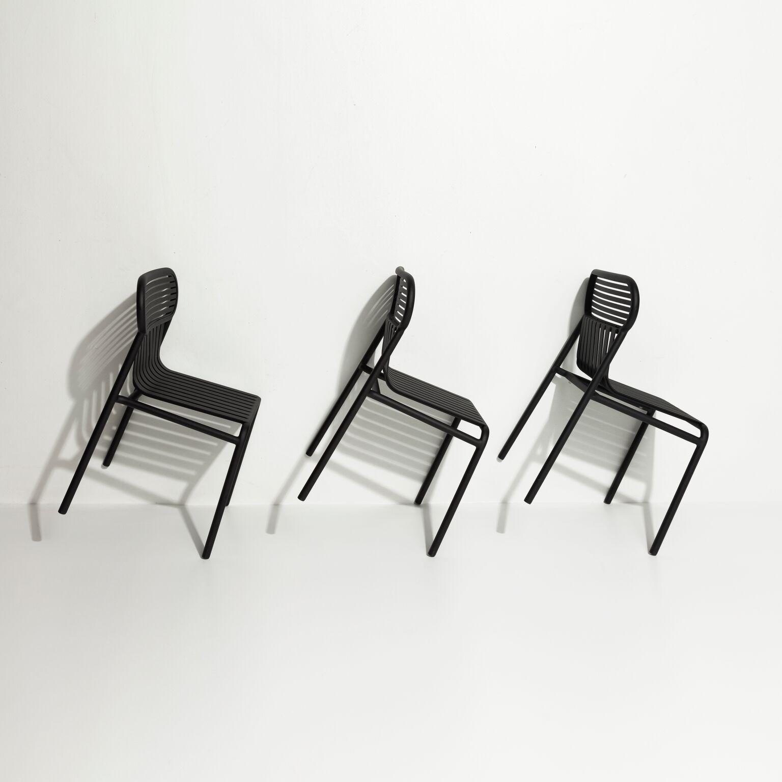 Chaise De Jardin Design Week-End - 5 Coloris - Petite ... destiné Banc De Jardin En Aluminium