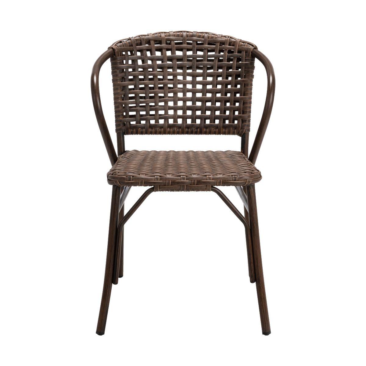 Chaise De Jardin En Aluminium Brun - Alinéa | Chaise, Table ... concernant Alinea Chaise Jardin