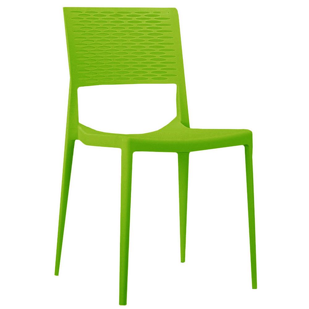 Chaise De Jardin Moderne Evora Vert Lime | Petits Prix | Dimehouse concernant Chaise De Jardin Verte