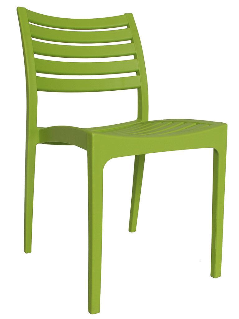 Chaise De Jardin Moderne Senna Vert Limevert | Petits Prix | Dimehouse intérieur Chaise De Jardin Verte