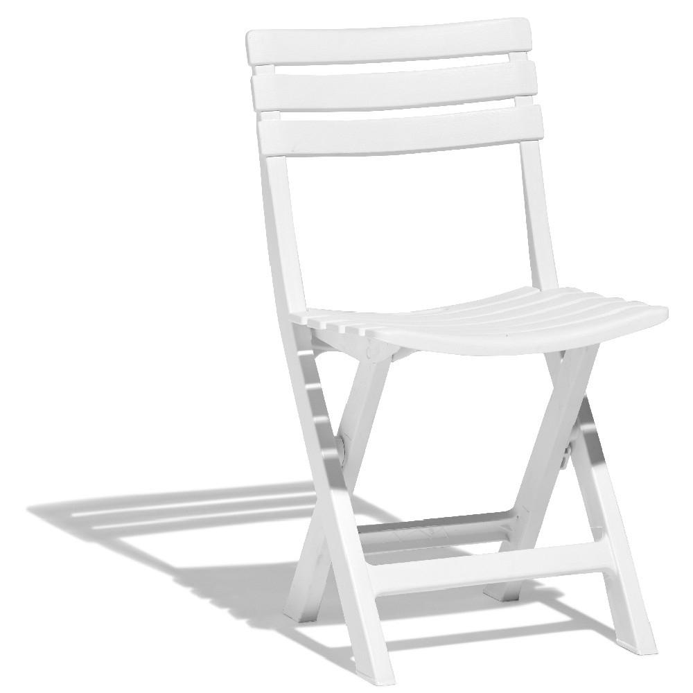 Chaise De Jardin Relax Pliante Blanche serapportantà Chaise De Jardin Blanche