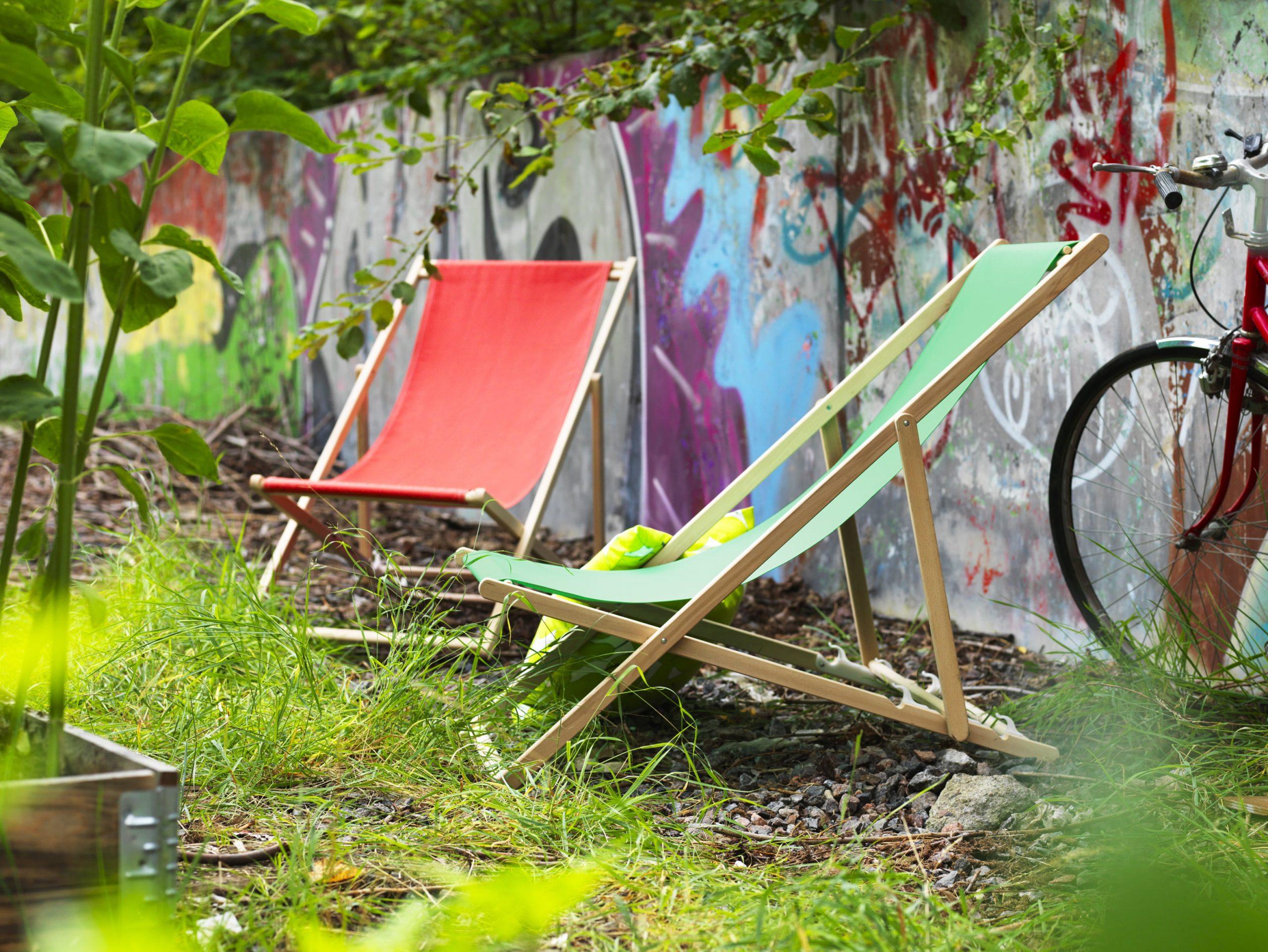 Chaise De Plage Mysingso D'ikea tout Transat Jardin Ikea