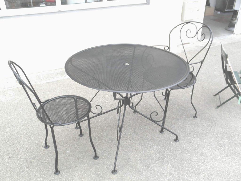 Chaise En Bois Pas Cher Best Of Table Et Chaise Pour ... pour Salon De Jardin En Métal Pas Cher