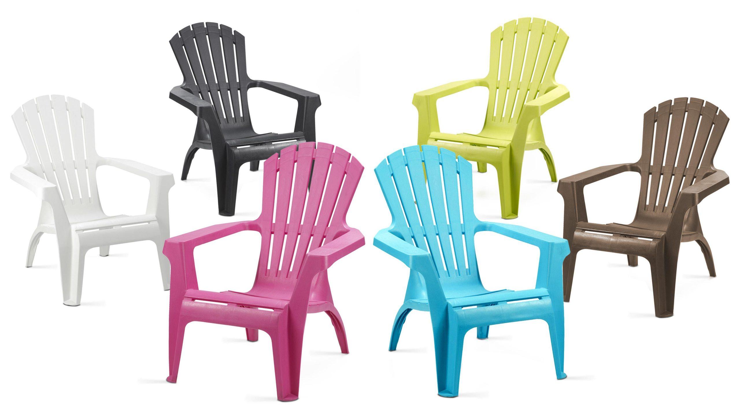 Chaise/fauteuil Dolomiti Bleu à Chaise De Jardin Bleu