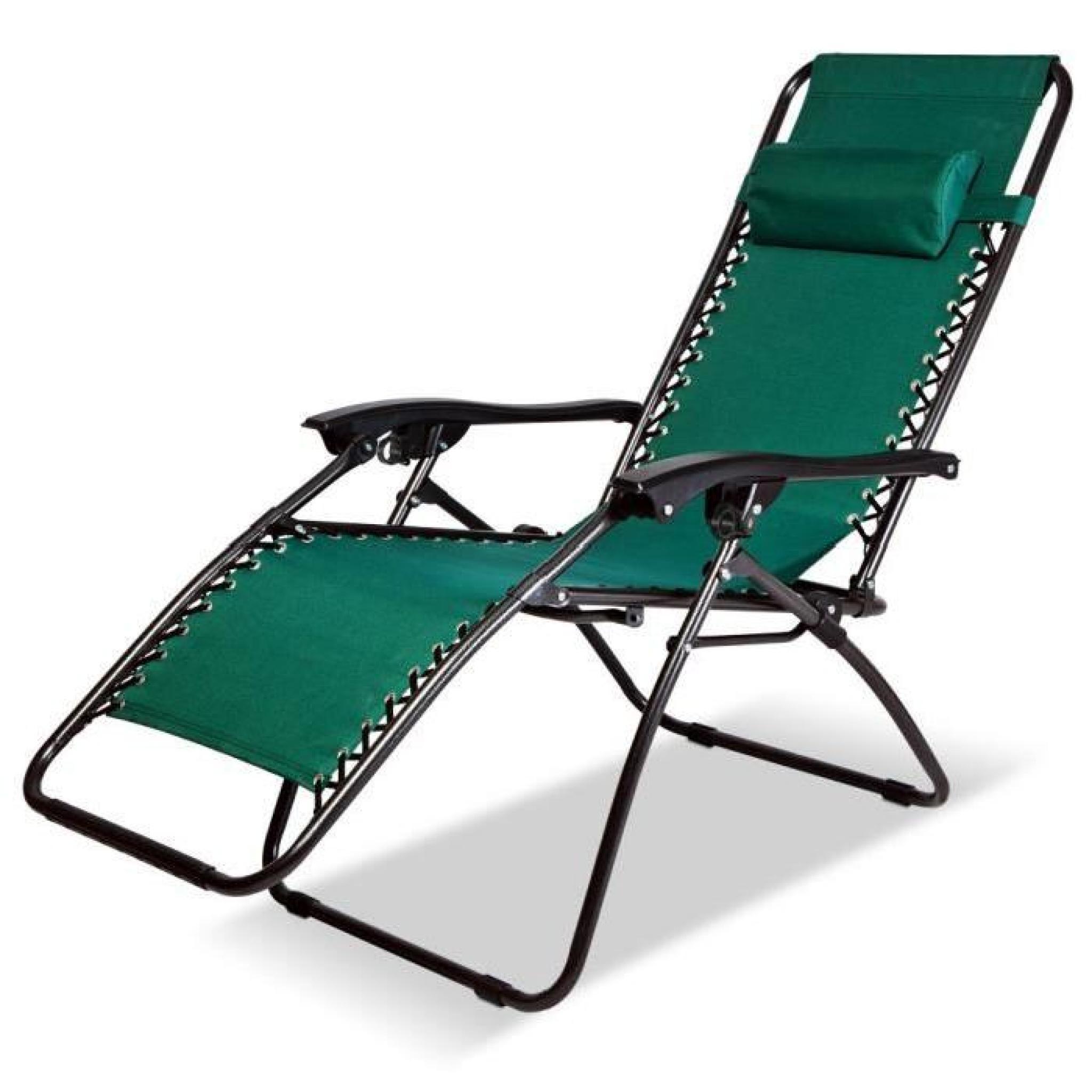 Chaise Longue De Jardin Pliable - Chaise Pliable De Camping - Transat  Terrasse concernant Chaise Longue De Jardin Pas Cher