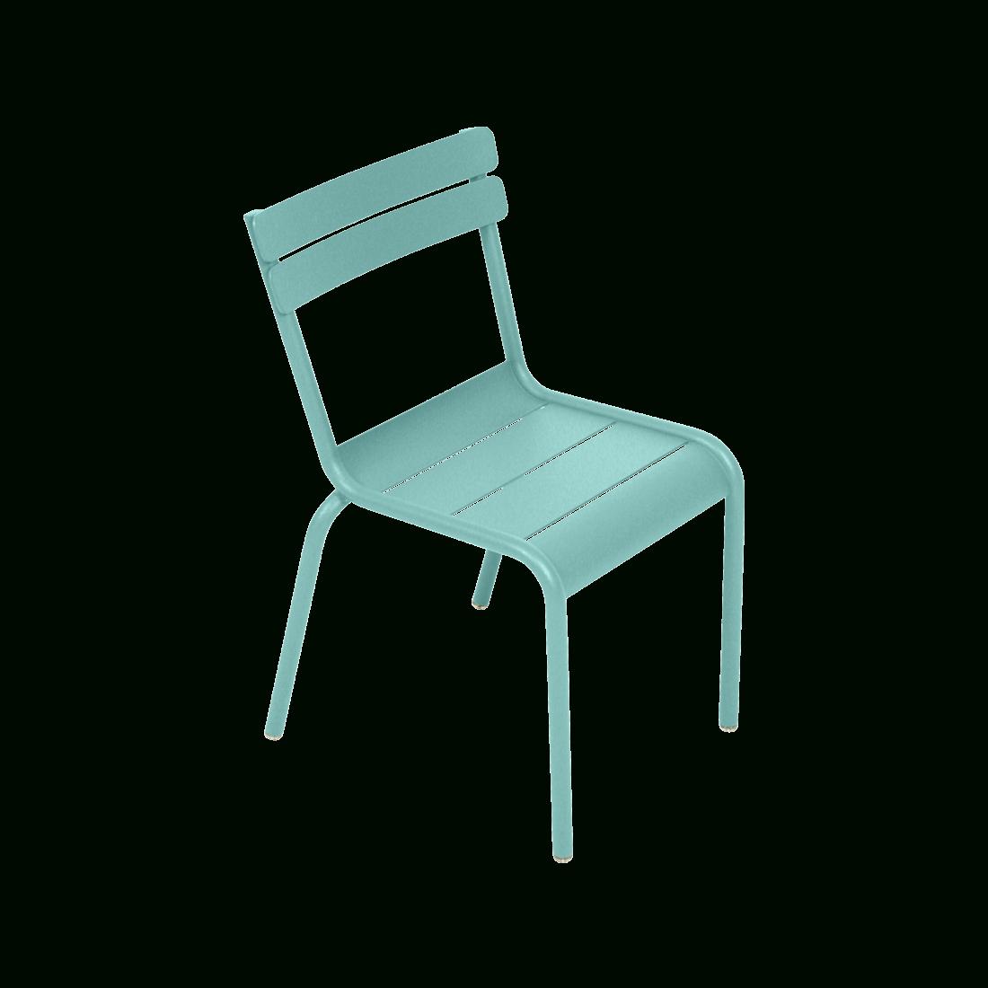 Chaise Luxembourg Kid, Chaise En Métal pour Table Et Chaise Jardin Enfant