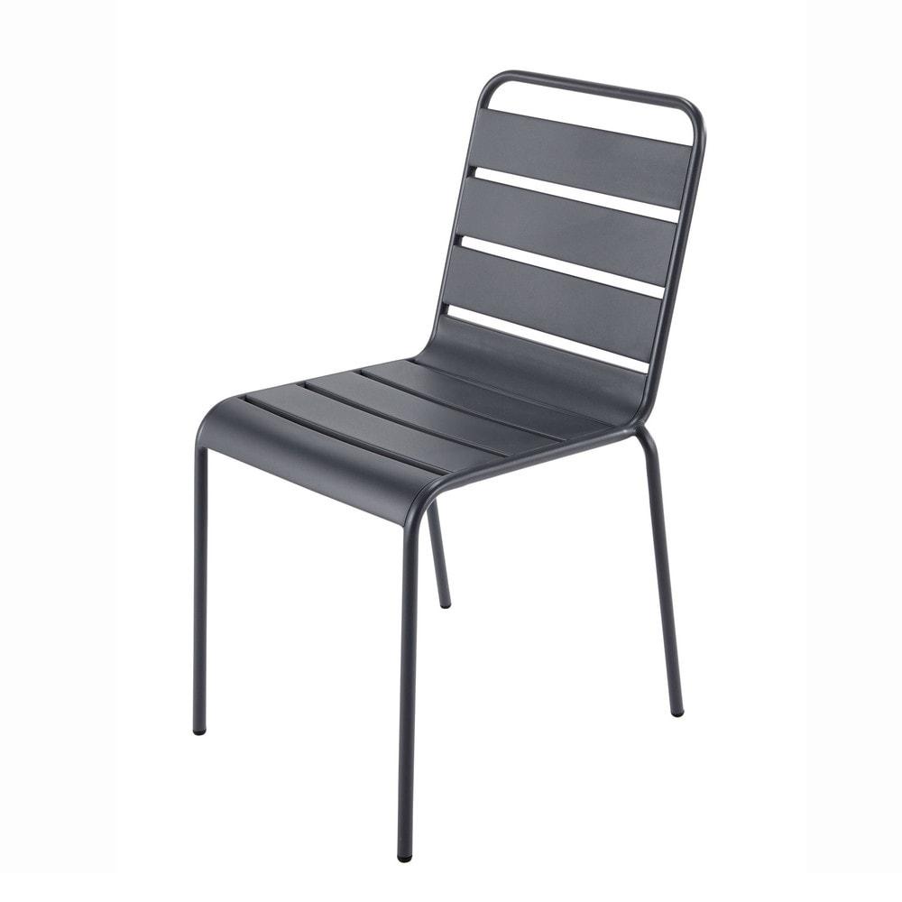 Chaise Metal Maison Du Monde. Interesting Alliez Le Style ... pour Chaise De Jardin Maison Du Monde