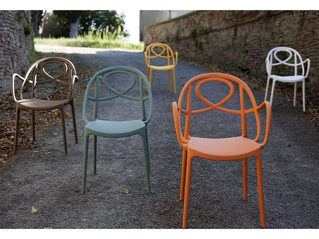 Chaise Pour Le Jardin En Plastique Colorée Etoile à Chaise Jardin Colorée