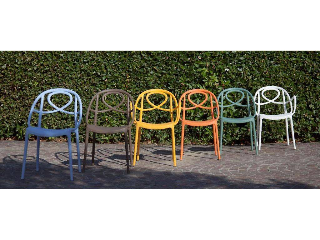 Chaise Pour Le Jardin En Plastique Colorée Etoile pour Chaise Jardin Colorée