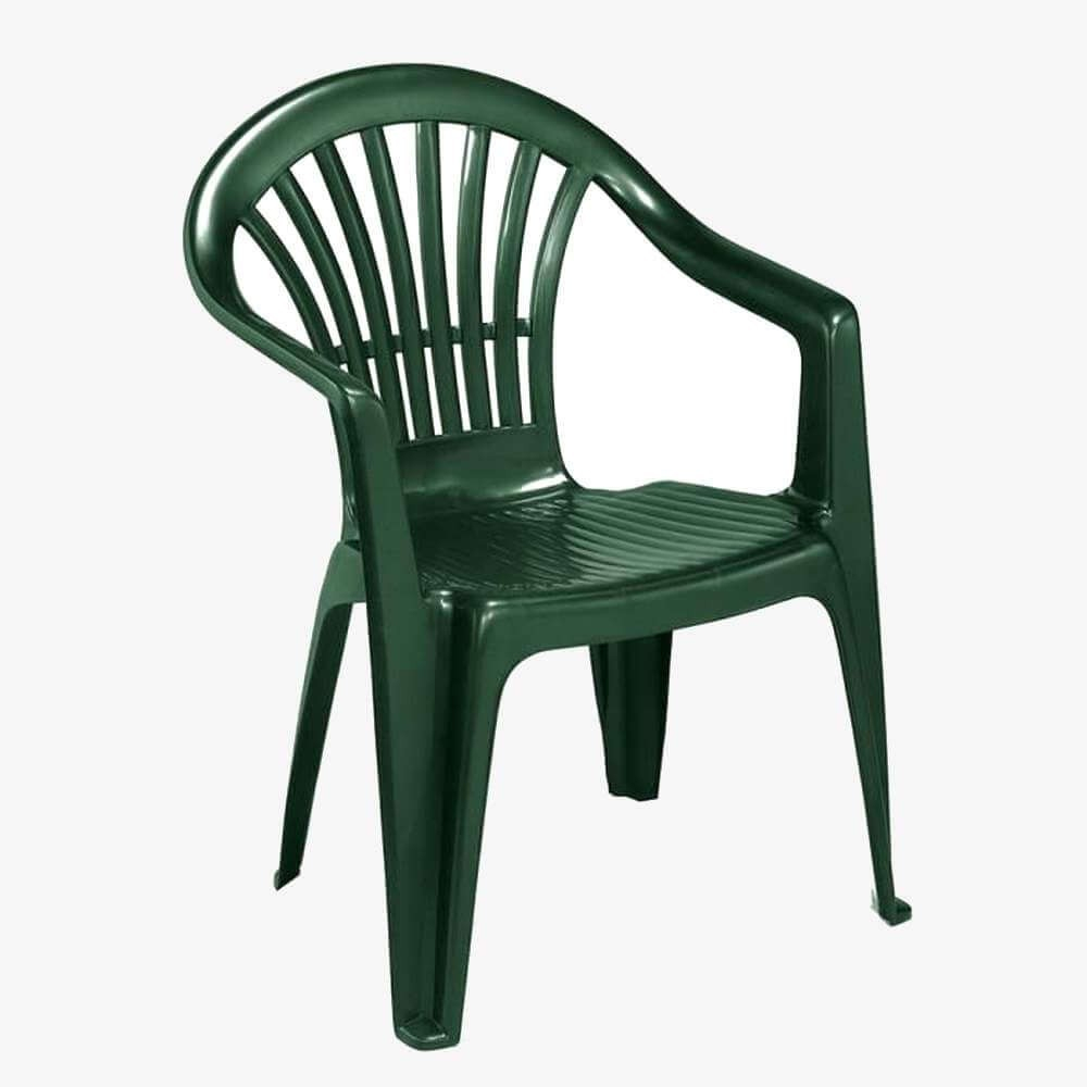 Chaises De Jardin Et De Terrasse Plastique Couleur Verte serapportantà Chaise Jardin Colorée