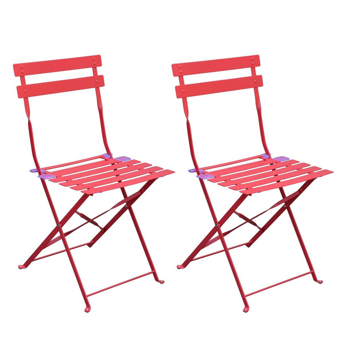 Chaises De Table De Jardin Hesperide Chaise Greensboro ... à Chaise De Jardin Hesperide