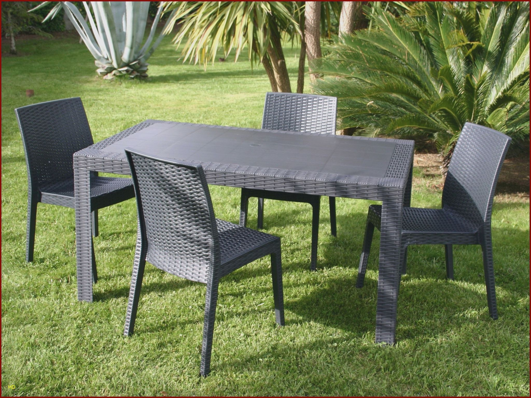 Chaises Luxe Chaise Ice 0D Table Jardin Resine Lovely ... concernant Table Et Chaise De Jardin En Plastique