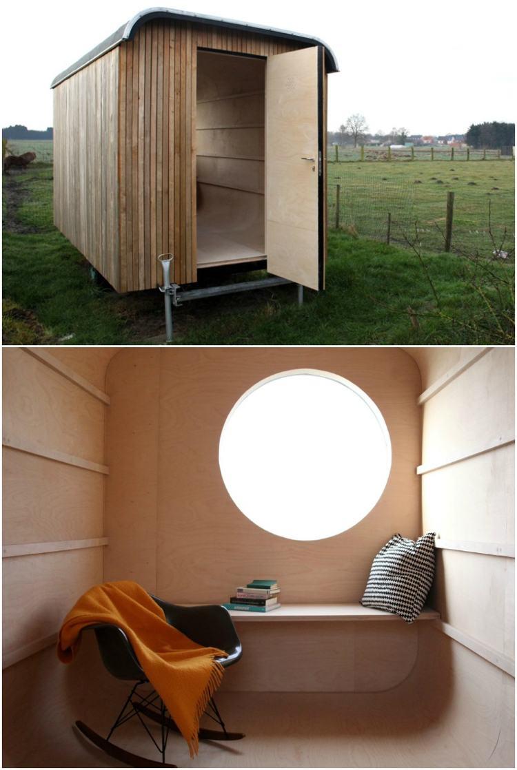 Chalet De Jardin Habitable – Alternatives Pour Gagner Surface destiné Abri Moto Jardin