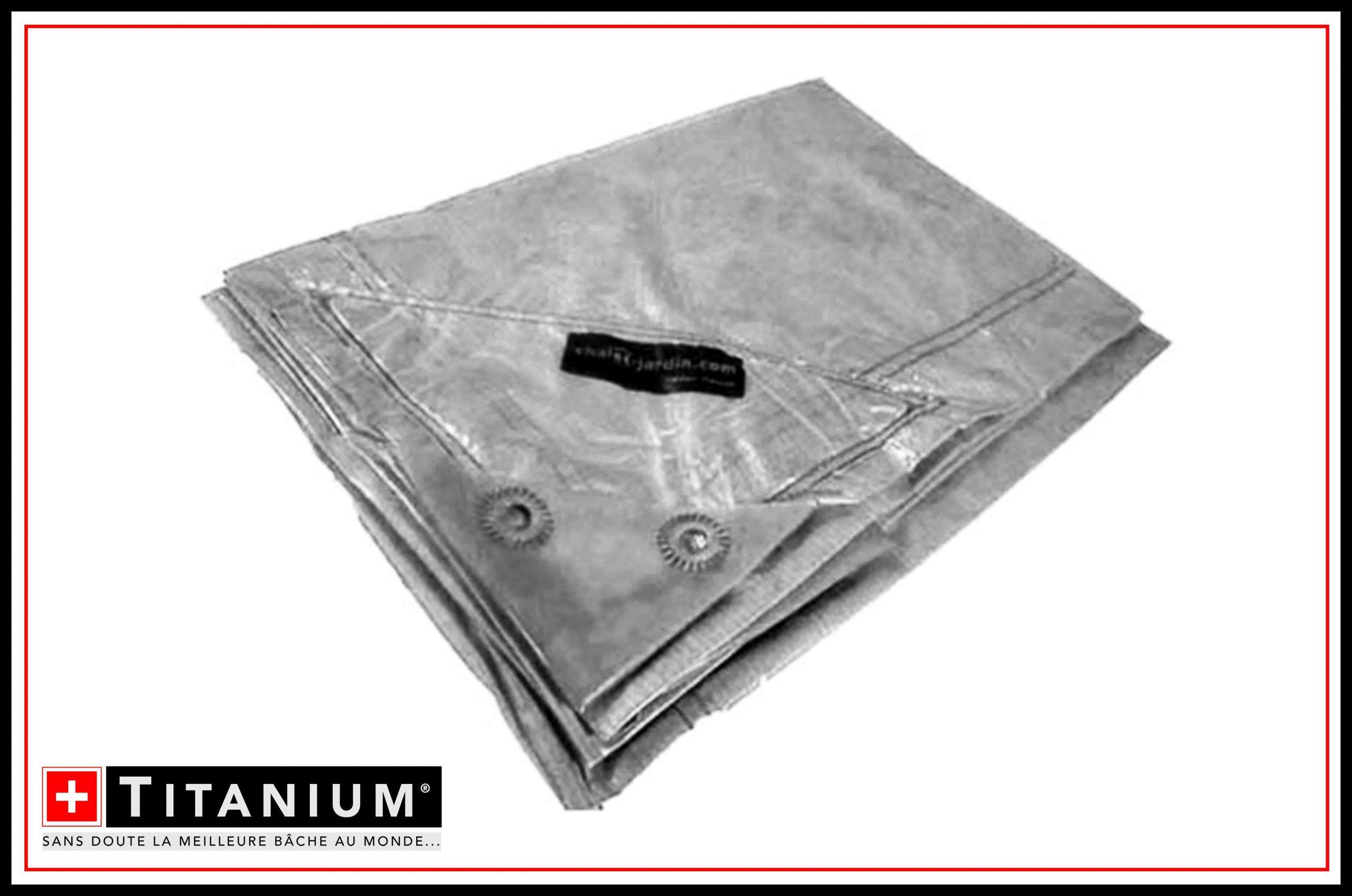Chalet & Jardin Boutique : Bâche Titanium® Translucide - 2X3M tout Destockage Salon De Jardin
