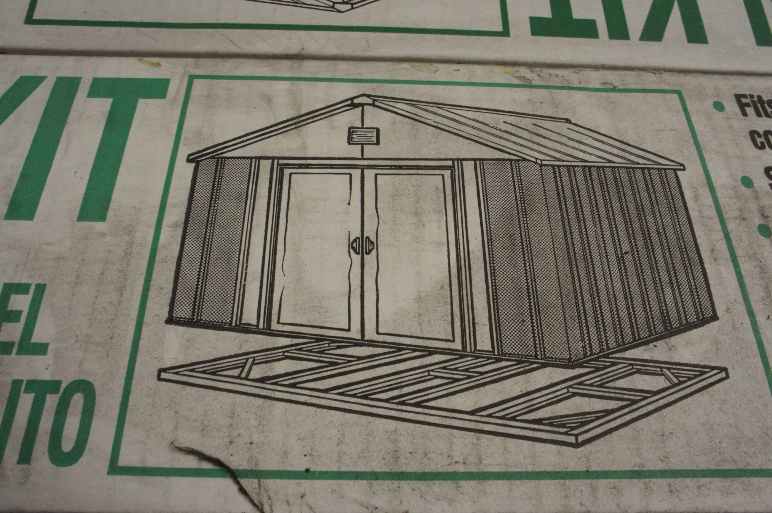 Chalet & Jardin Boutique : Kit De Fondation Pour Abri En ... intérieur Fondation Abri De Jardin