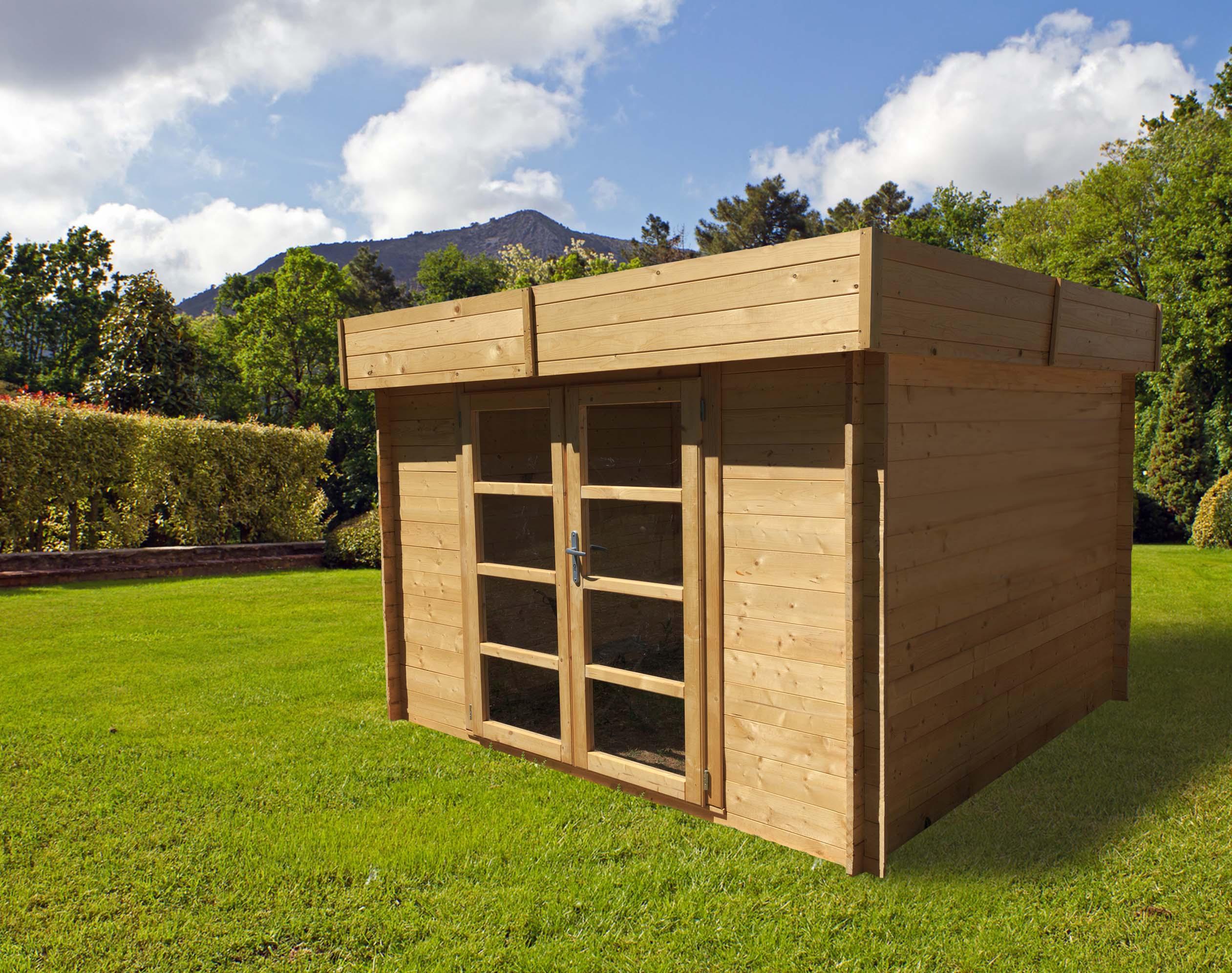Chalet & Jardin:la Maison Du Jardin Abri De Jardin En Sapin ... avec Toit Bitumé Abri Jardin