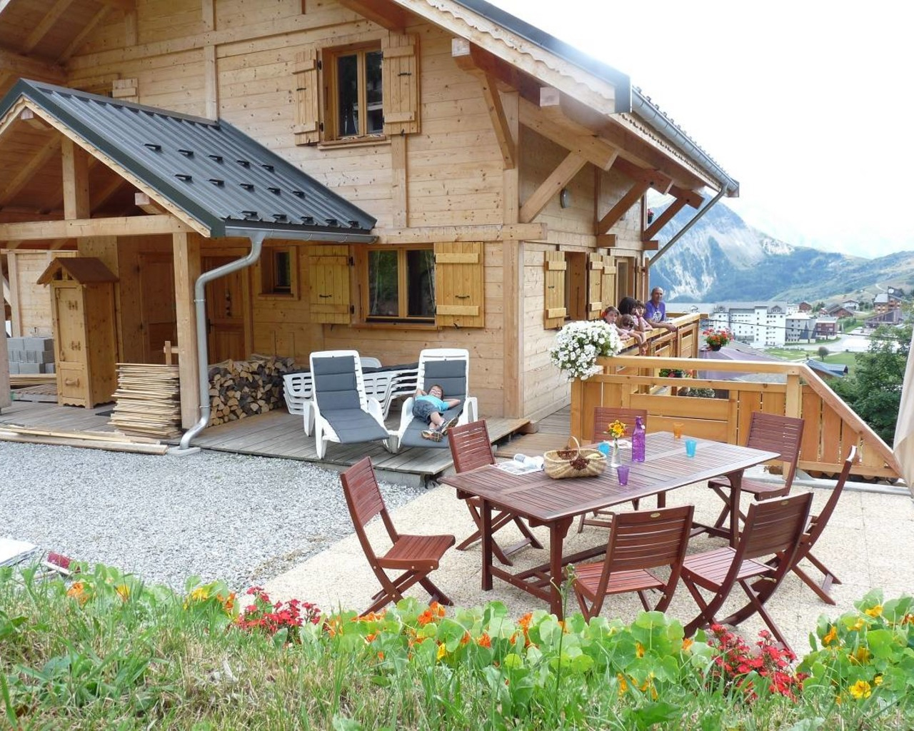 """Chalet """"le Jardin D'hiver"""", Lodgings And Furnished Rentals ... intérieur Chalet Le Jardin D Hiver La Toussuire"""