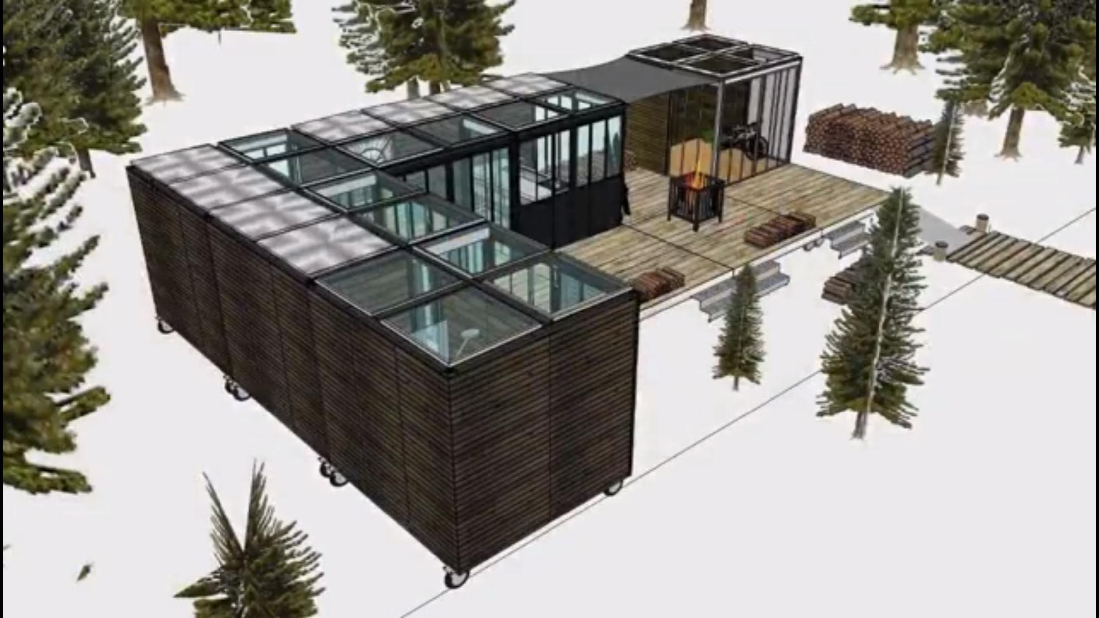 Chaletdejardin #chambre #studio #abris #extension ... intérieur Studio De Jardin Habitable