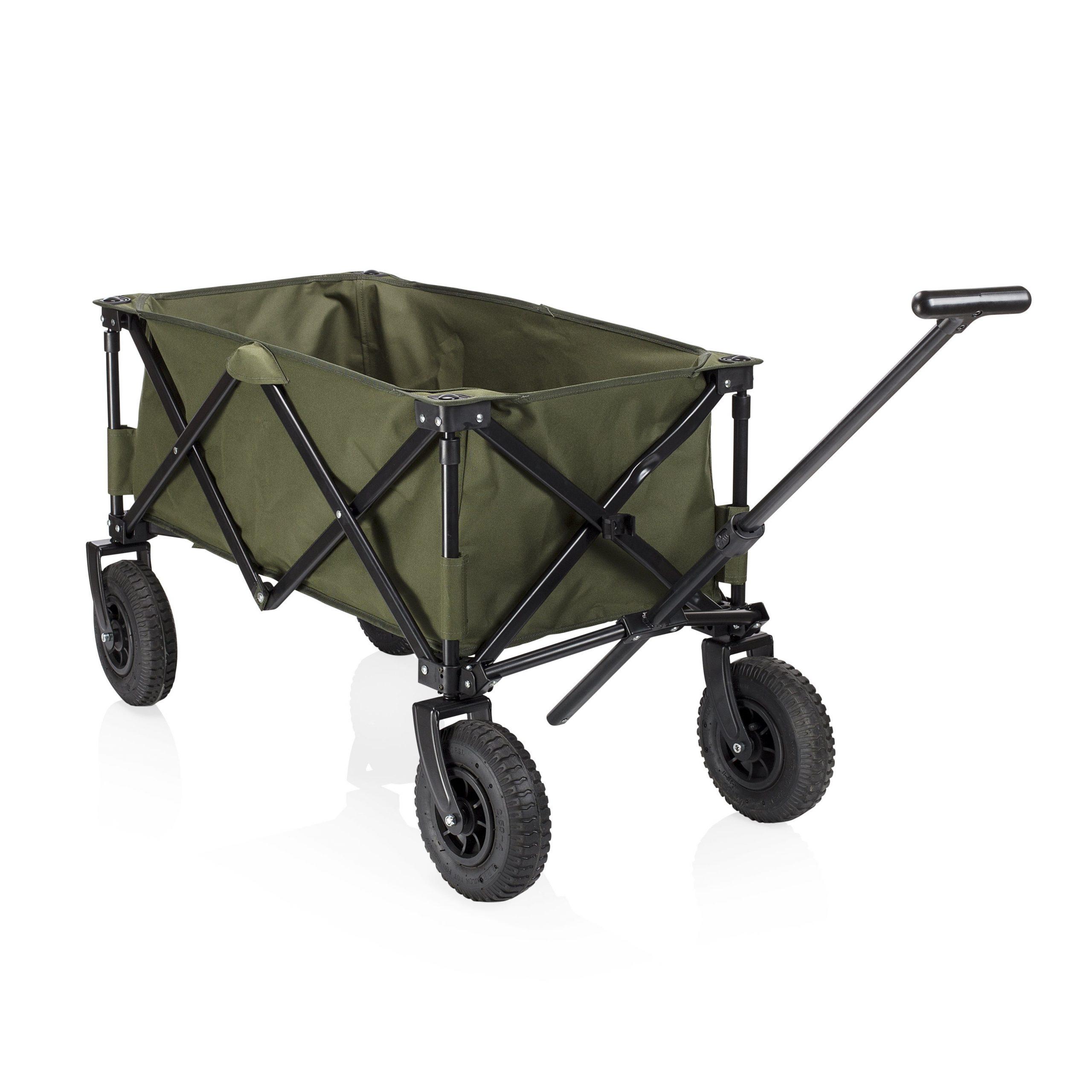Chariot 4 Roues Campart, 100 L, 70 Kg tout Chariot De Jardin Leroy Merlin