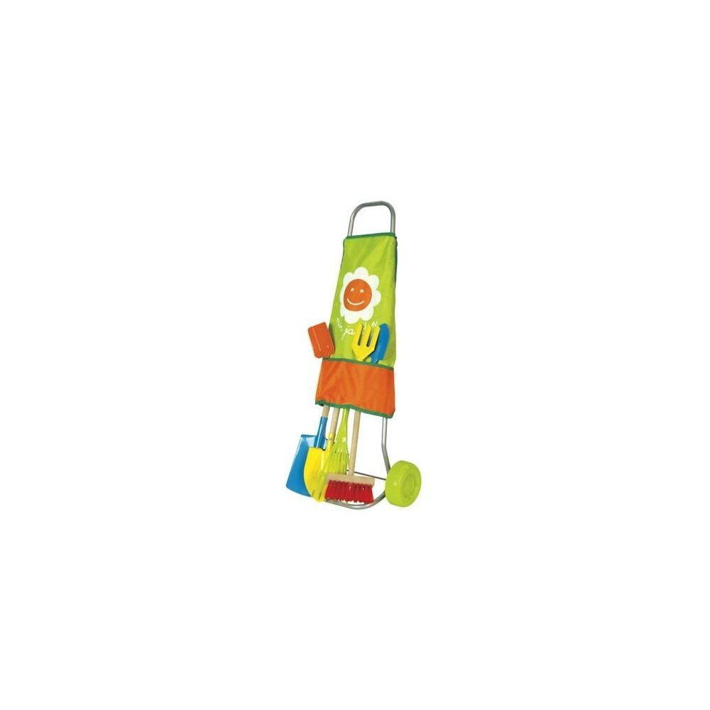 Chariot De Jardinage Pour Enfants 7 Outils - House Of Toys encequiconcerne Outil Jardin Enfant