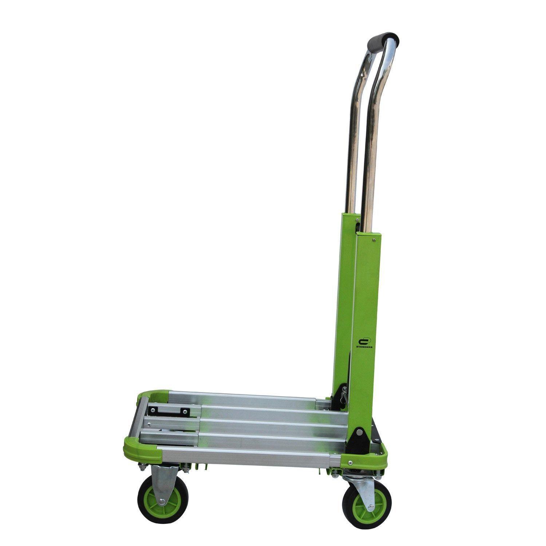 Chariot Pliable Standers, Charge Garantie 150 Kg | Chariot ... concernant Chariot De Jardin Leroy Merlin