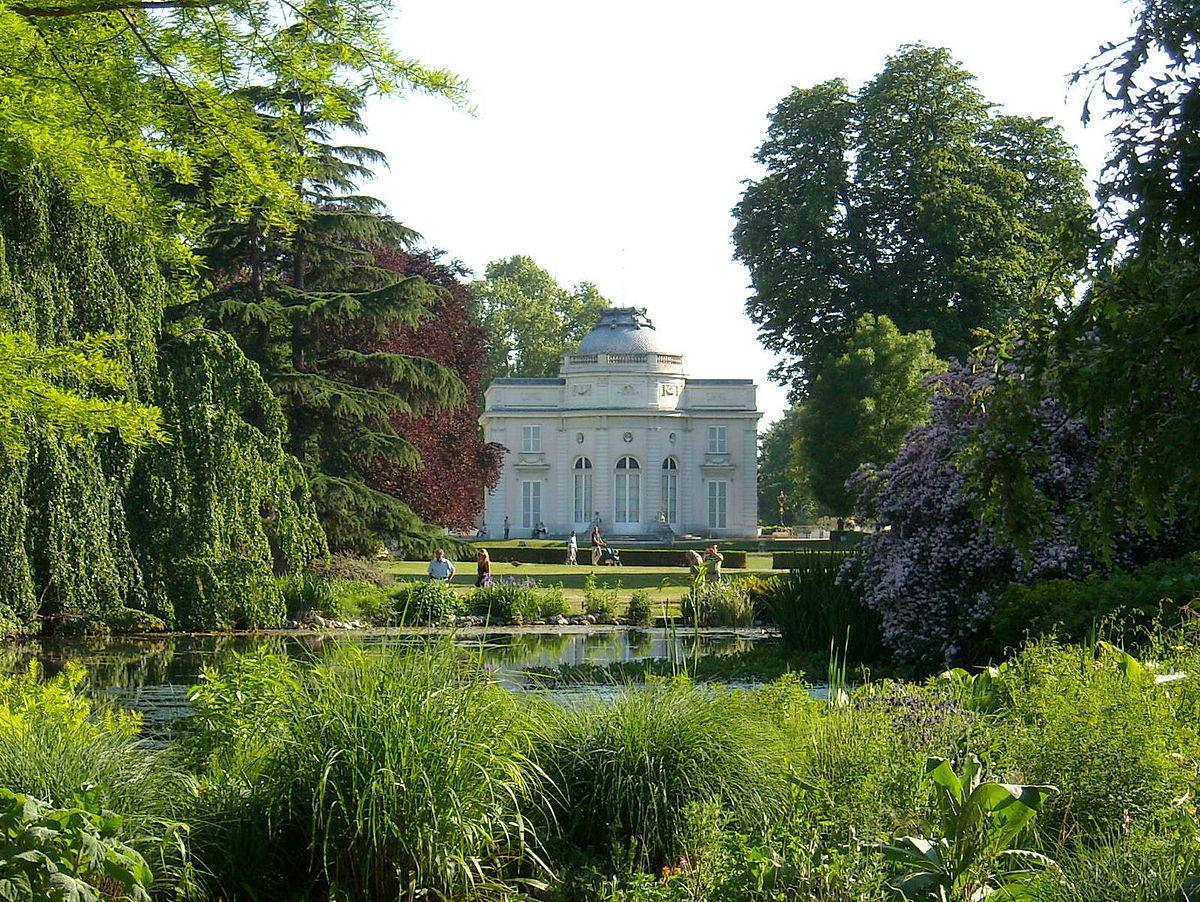 Château De Bagatelle (Seine) — Wikipédia intérieur Point P Bordures De Jardin
