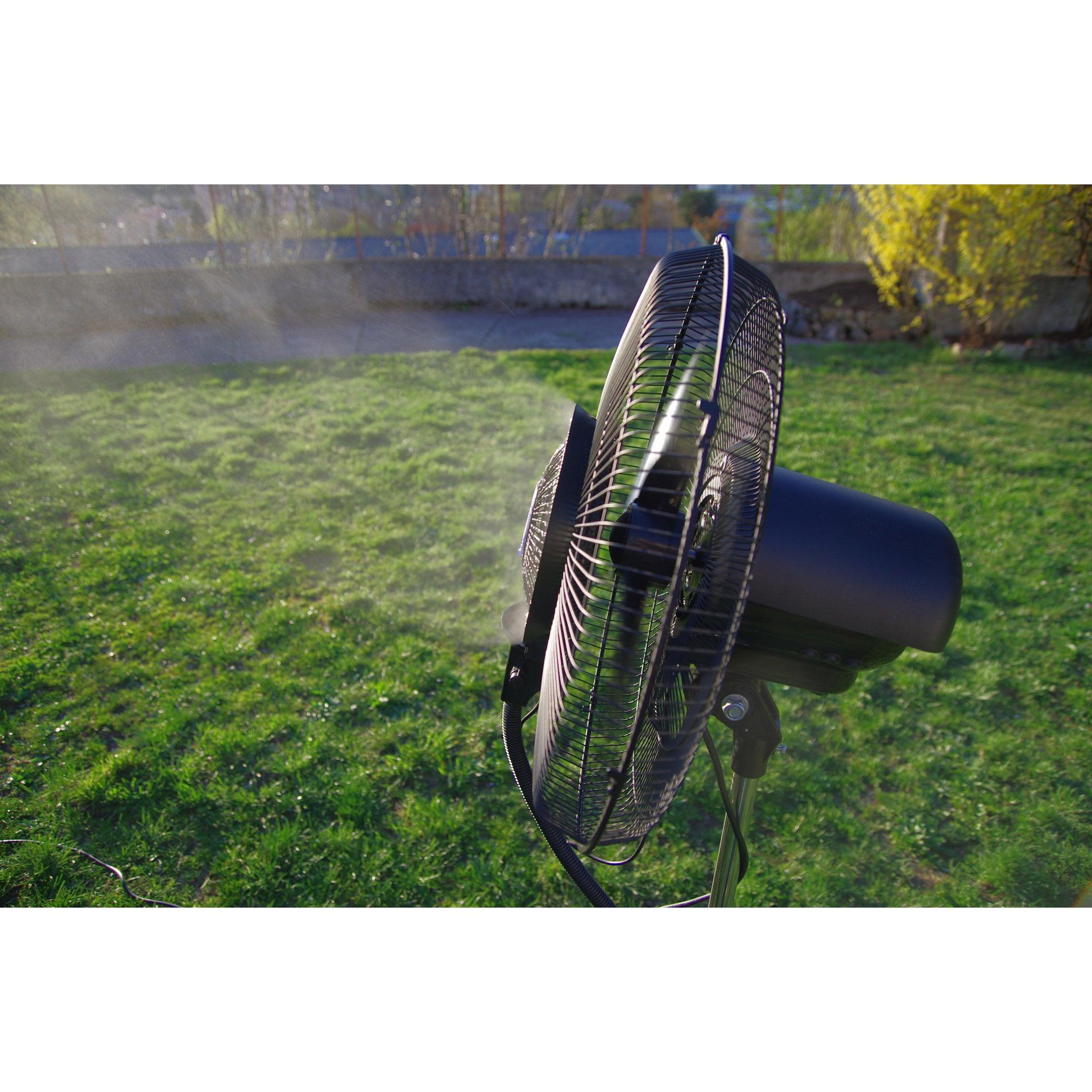 Chauffage Et Climatisation Ofresh 072 Ventilateur ... tout Brumisateur Jardin