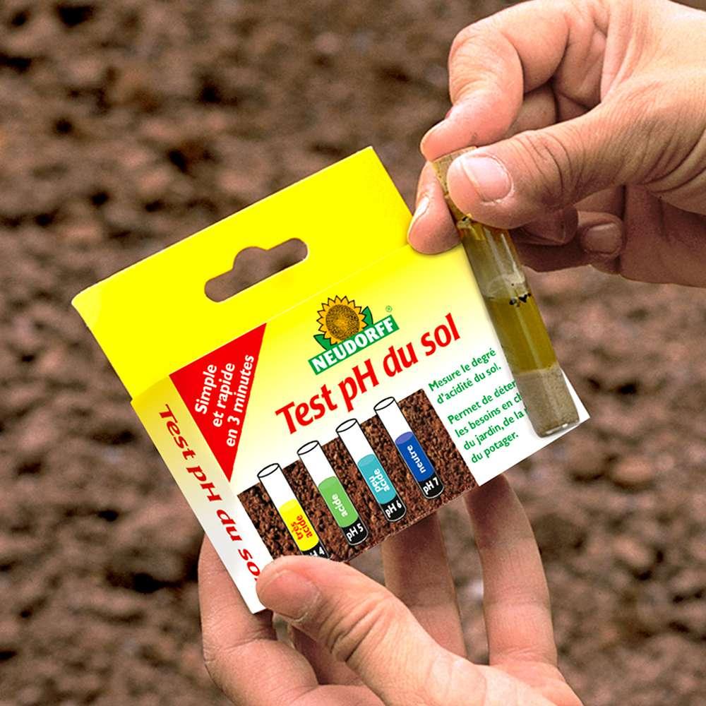 Chaux Améliorée Pour Le Jardin Avec Kit Test Ph Du Sol. Sac ... concernant La Chaux Pour Le Jardin