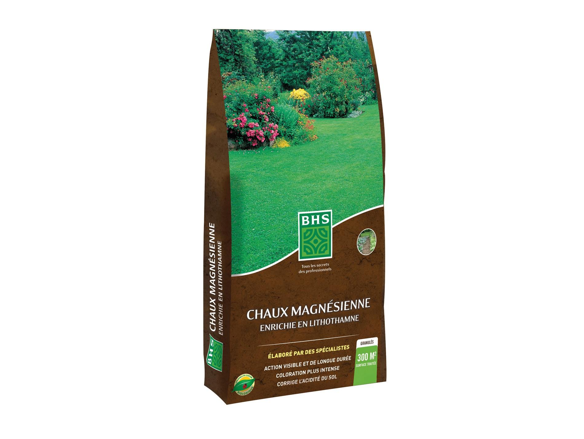 Chaux Magnésienne + Lithotome 18Kg dedans Quelle Chaux Pour Le Jardin