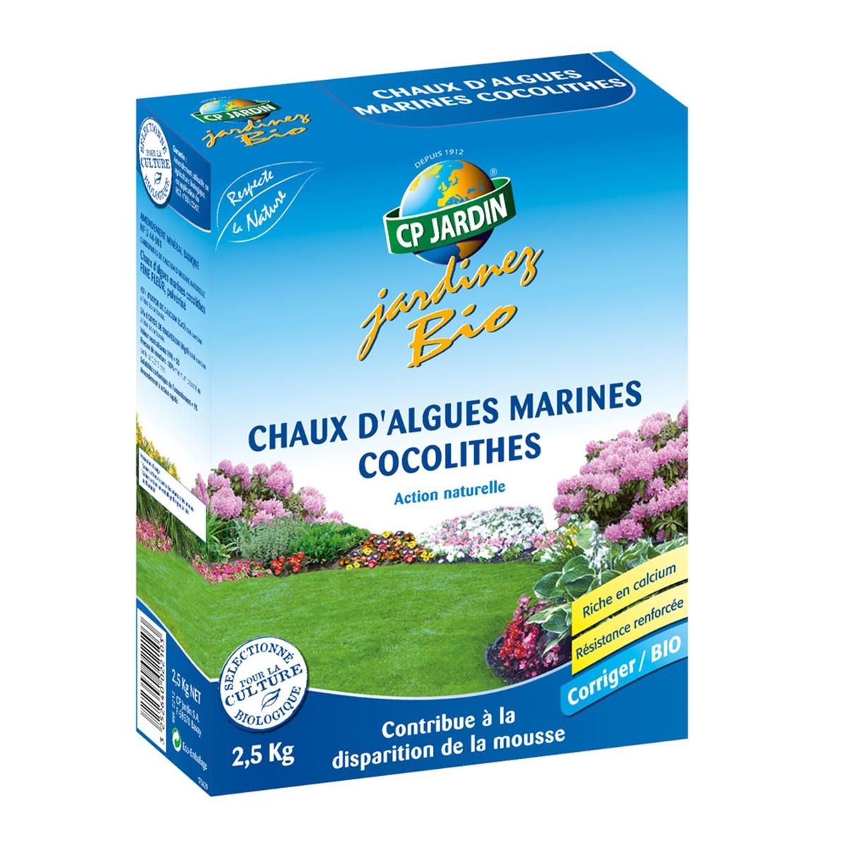 Chaux Marine 2.5Kg à Chaux Pour Jardin