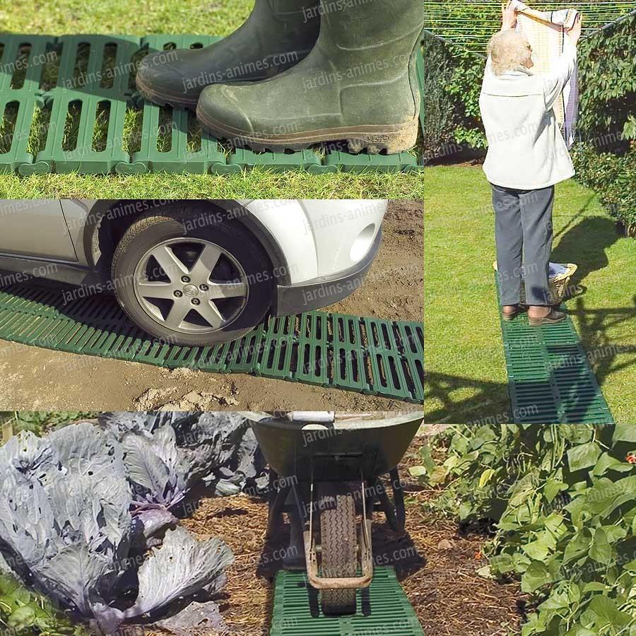 Chemin Potager En Plastique Recyclé 3M à Acheter Un Jardin Potager