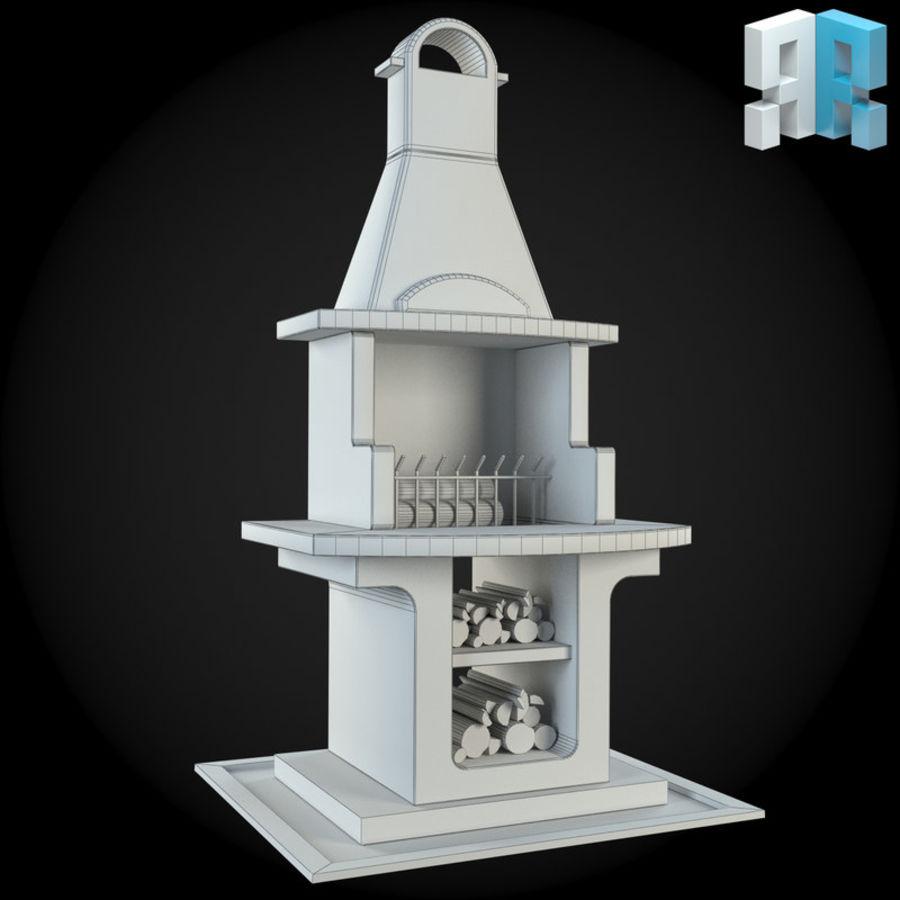 Cheminée De Jardin 008 Modèle 3D $12 - .unknown .max .obj ... concernant Cheminee De Jardin