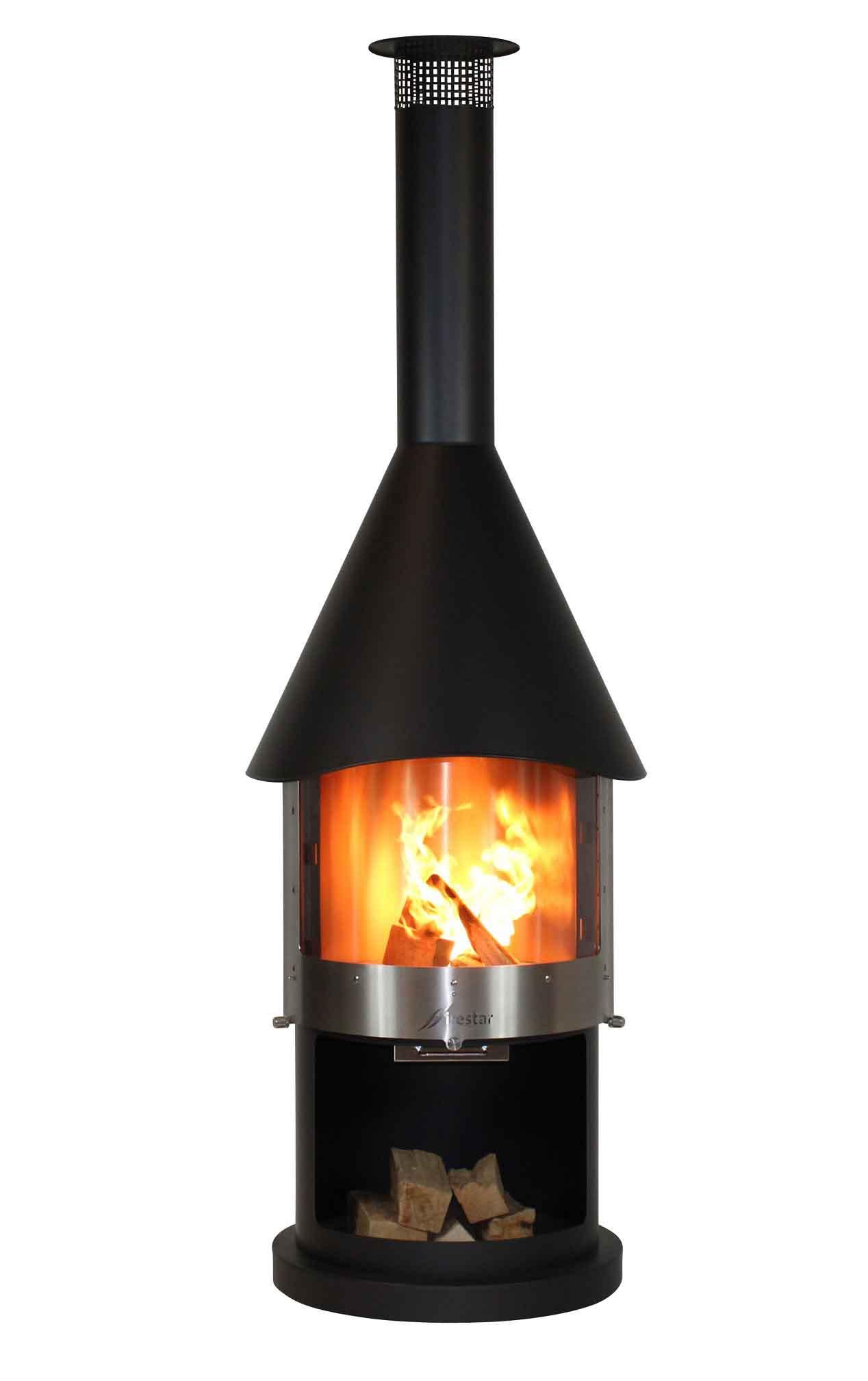 Cheminée De Jardin / Barbecue Firestar Dn 700 Swing Glas Classic serapportantà Cheminee De Jardin