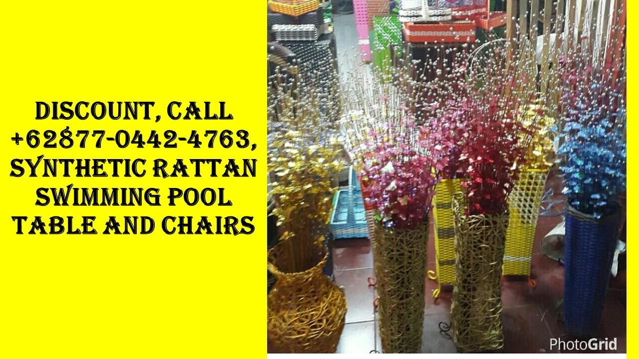 Cher Client, Call +62877–0442–4763, Ensemble Jardin Resine avec Salon De Jardin Pas Cher En Plastique