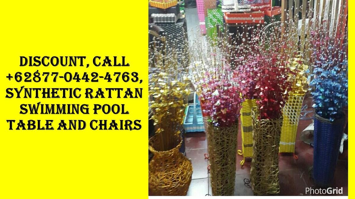 Cher Client, Call +62877–0442–4763, Ensemble Jardin Resine pour Salon De Jardin Pvc Pas Cher