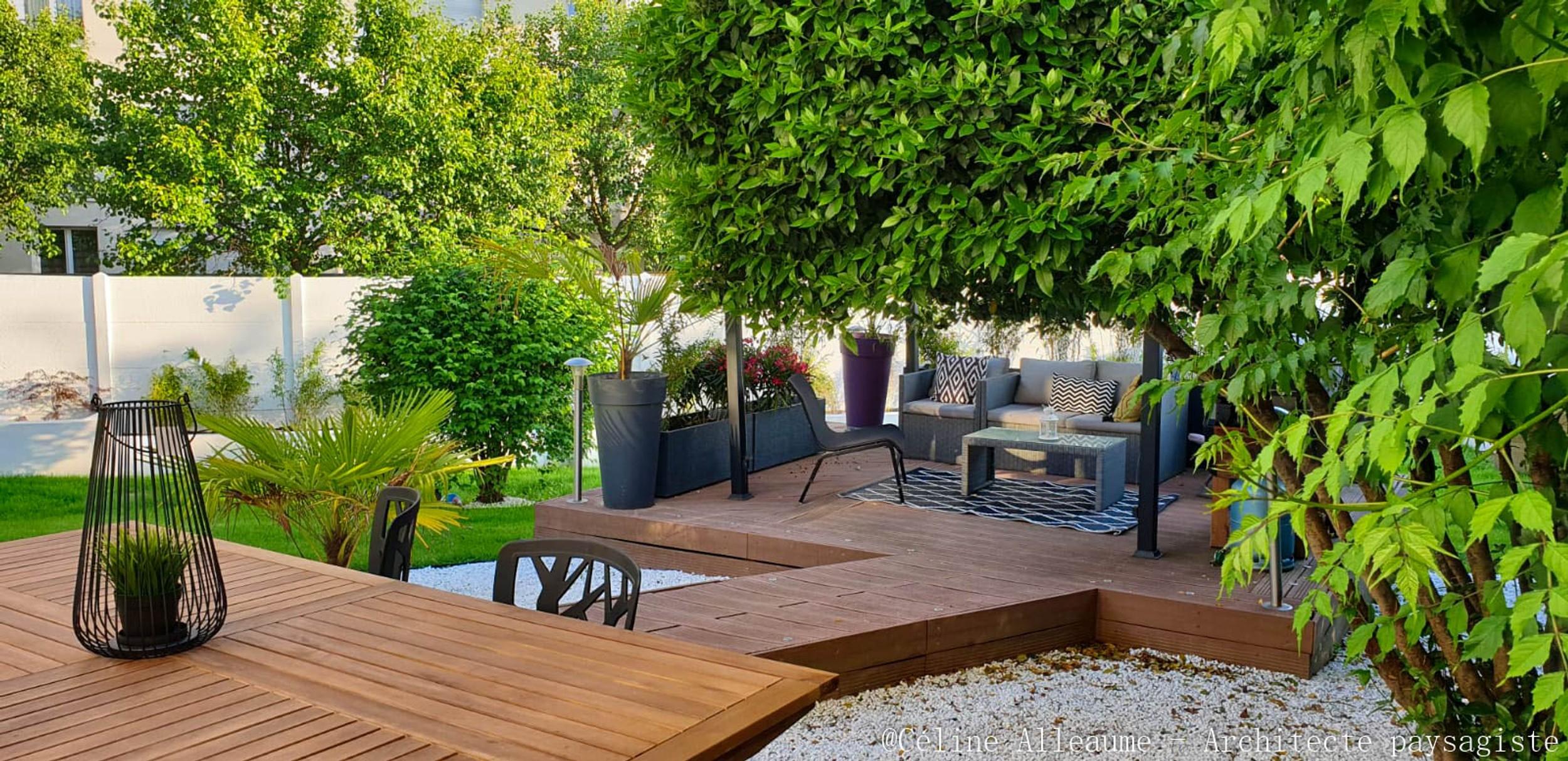 Chevreuse | Architecte-Paysagiste | Céline Alleaume destiné Refaire Son Jardin Paysagiste