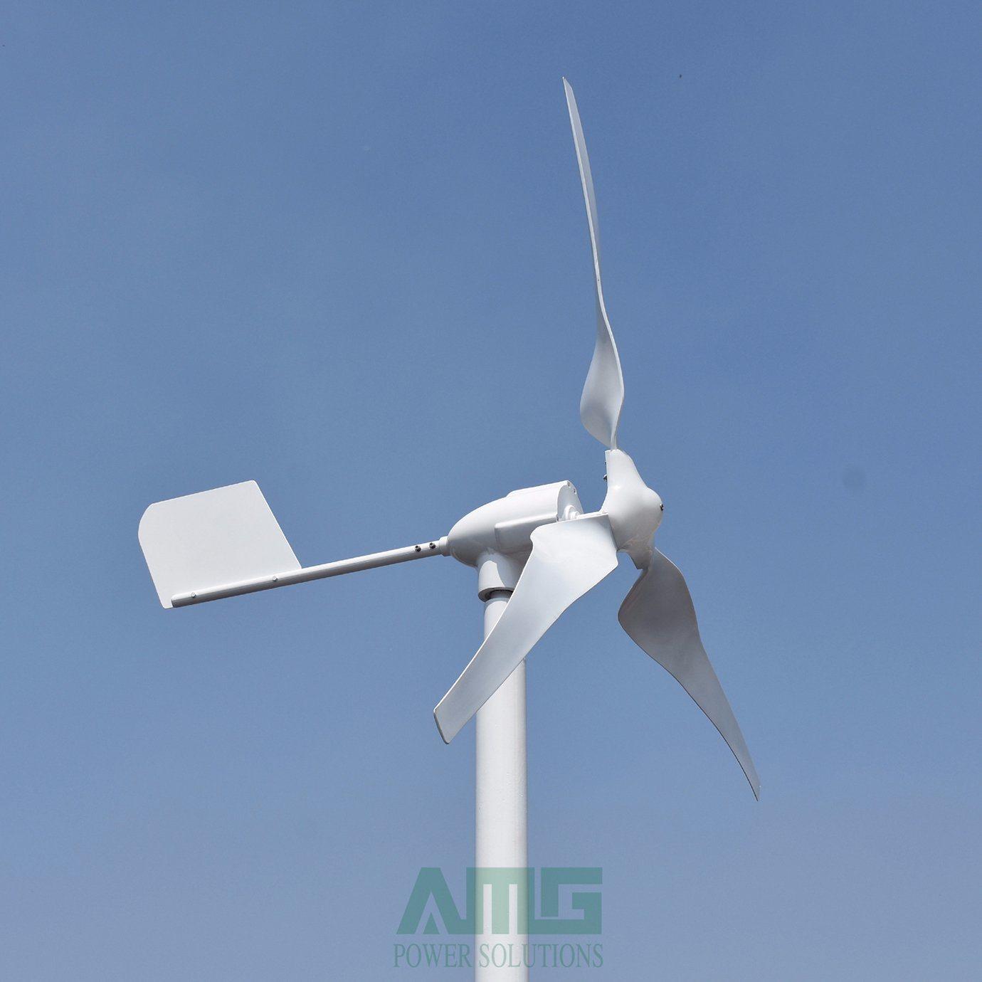 Chine 600W Génératrice Éolienne De Petite Maison Kit Avec ... destiné Petite Éolienne De Jardin