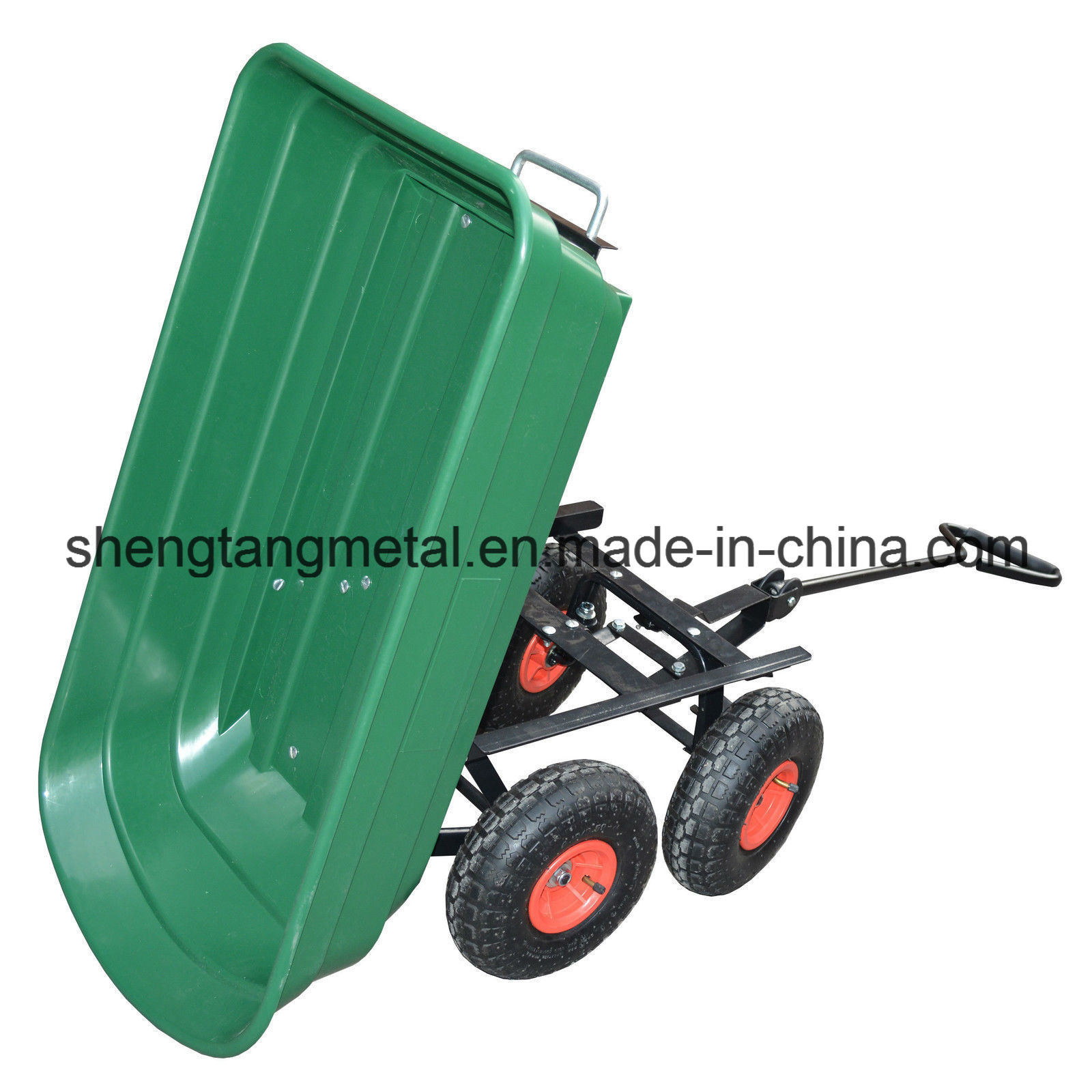 Chine Chariot 4 Roues Chariot De Jardin 75L Sac Chariot ... tout Chariot Remorque De Jardin