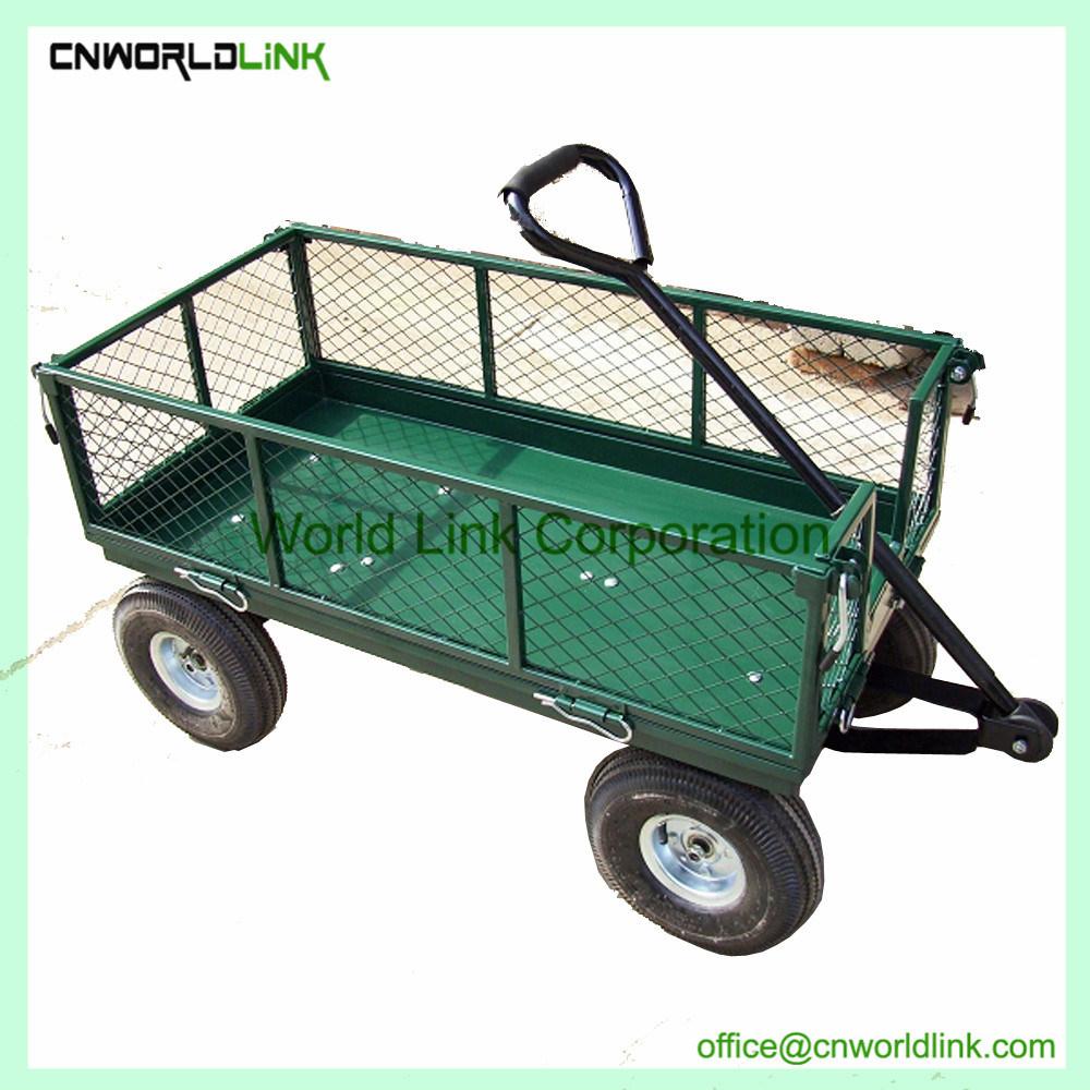 Chine Plage De Haute Qualité Panier Chariot De Jardin En ... avec Chariot De Jardin 4 Roues