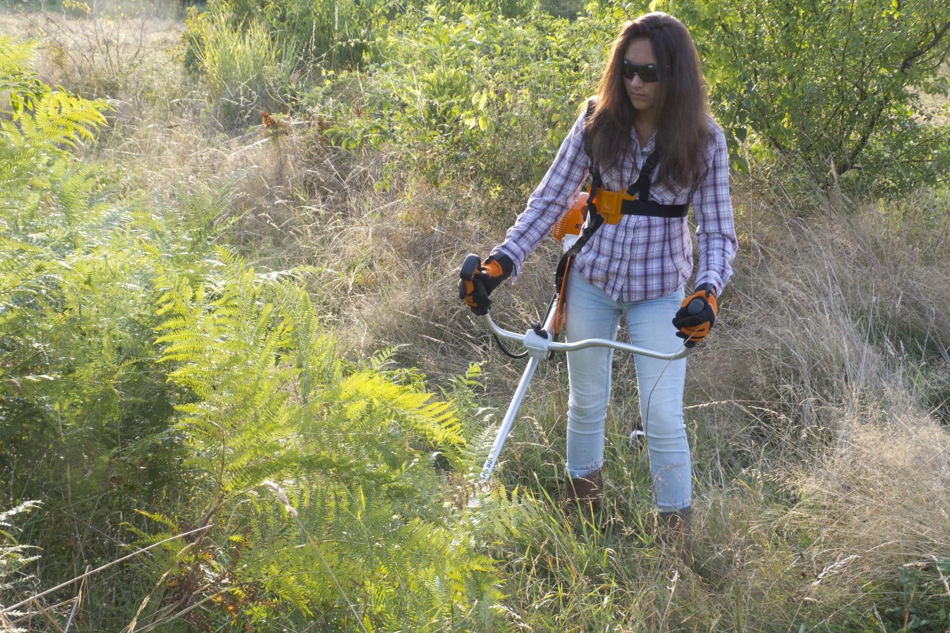 Choisir Sa Débroussailleuse Pour Nettoyer Le Jardin Avec ... à Faucheuse Jardin