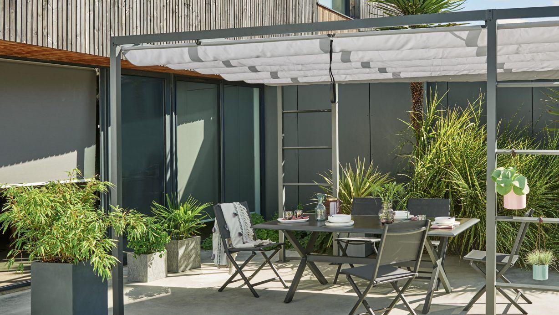 Choisir Une Tonnelle Pour Le Jardin   Terrasse Jardin ... concernant Tonnelle De Jardin Jardiland