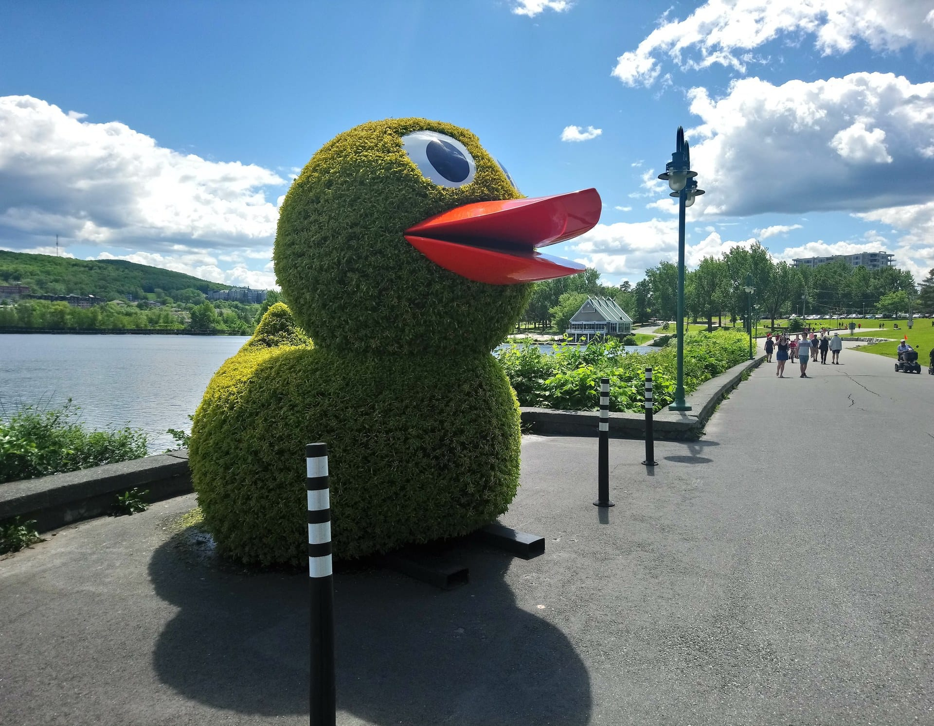 Circuit Art & Mosaïques | Destination Sherbrooke encequiconcerne Nain De Jardin Géant