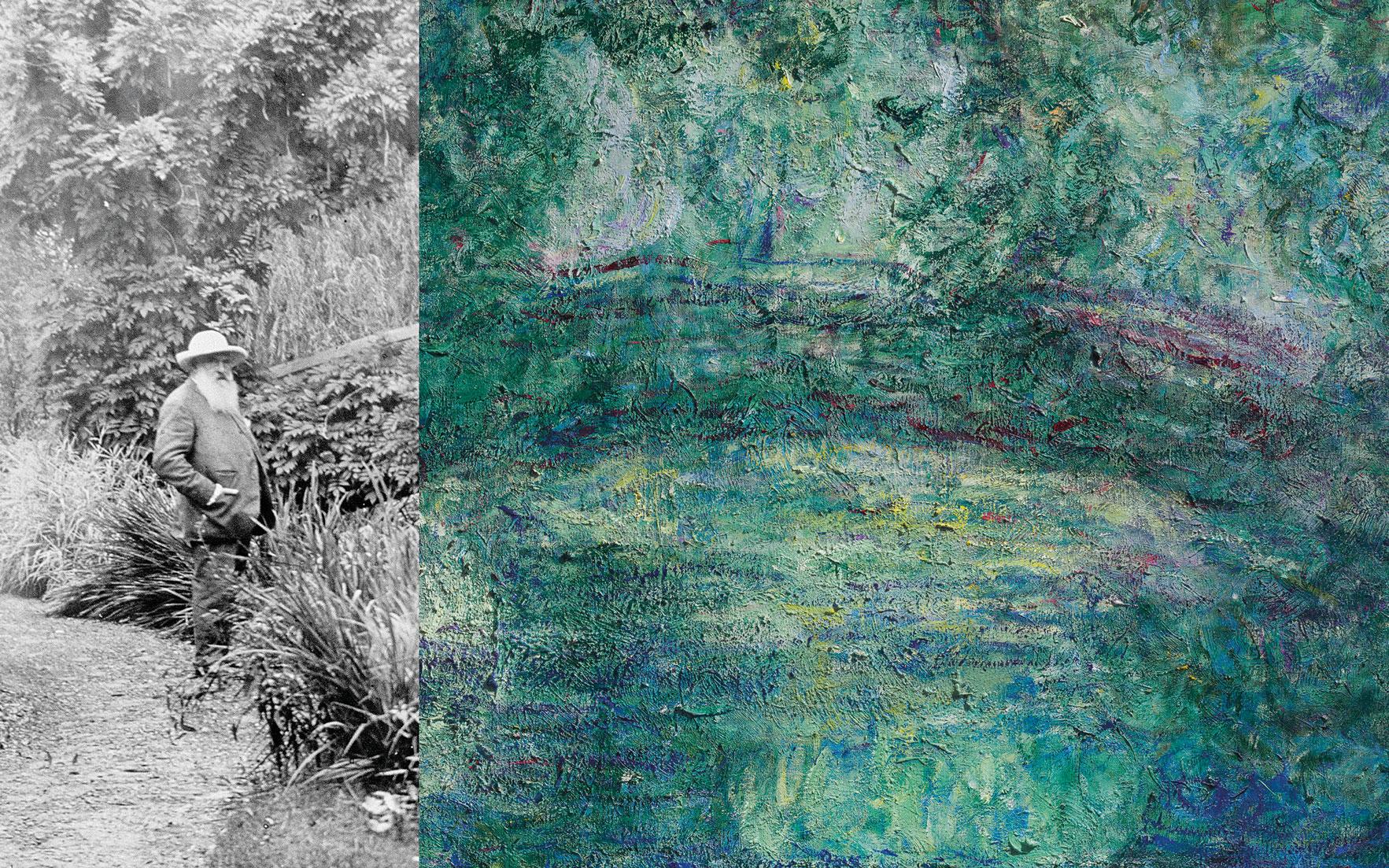 Claude Monet: The Man And His Masterpieces | Christie's destiné Salon De Jardin Alice Garden